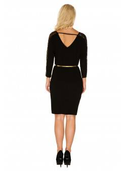 Maternity dress Camille gold
