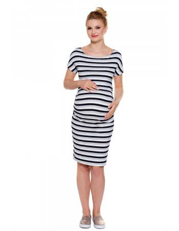 Maternity dress Wendy stripes
