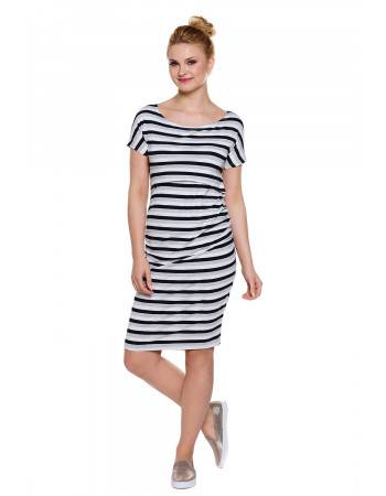 Maternity striped dress Wendy stripes