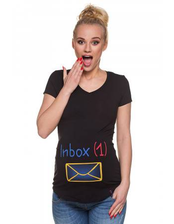 T-shirt ciazowy Inbox