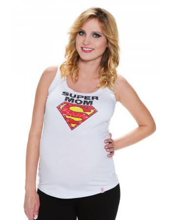 Maternity tank top Super Mom
