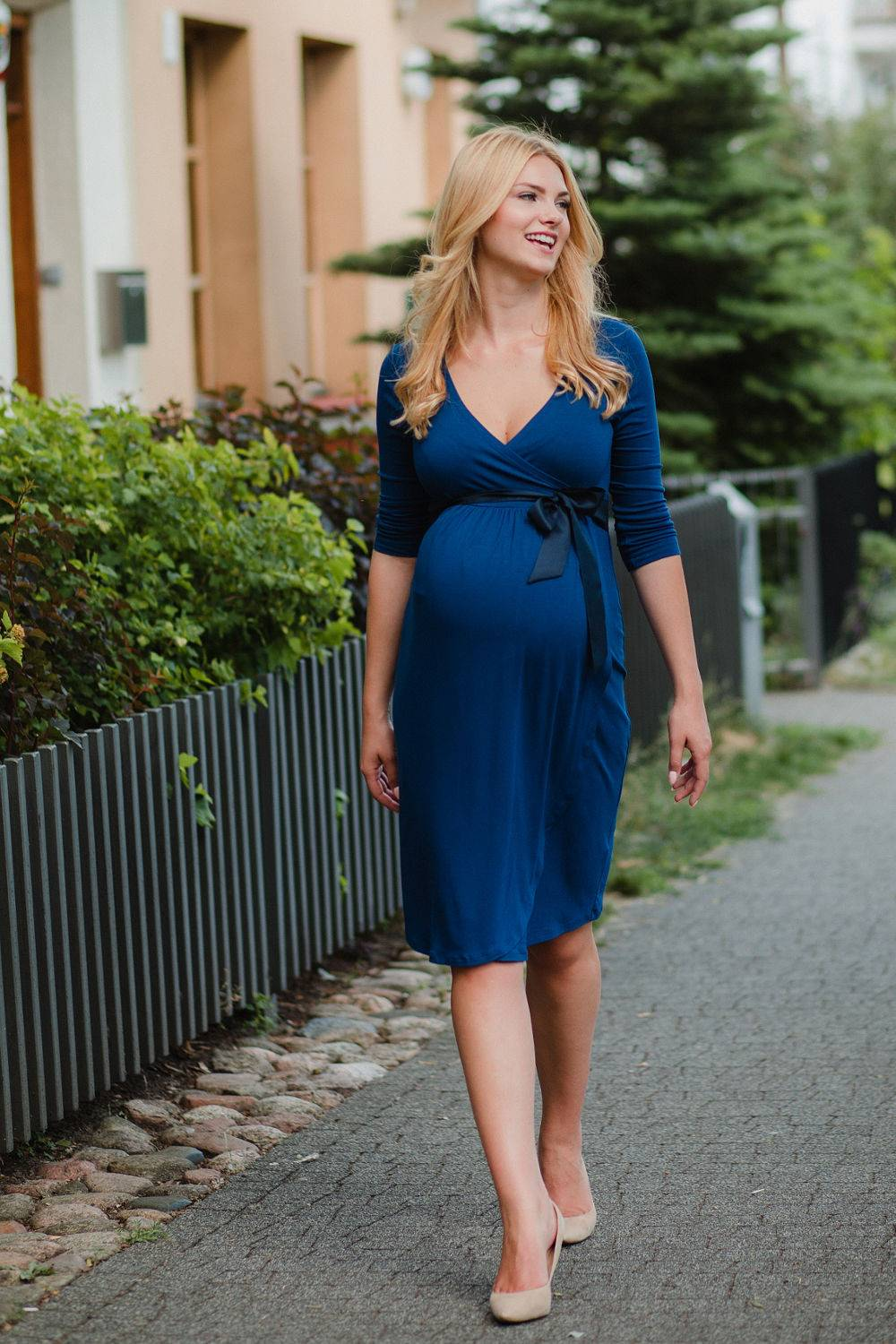Maternity nursing dress Erin lookbook