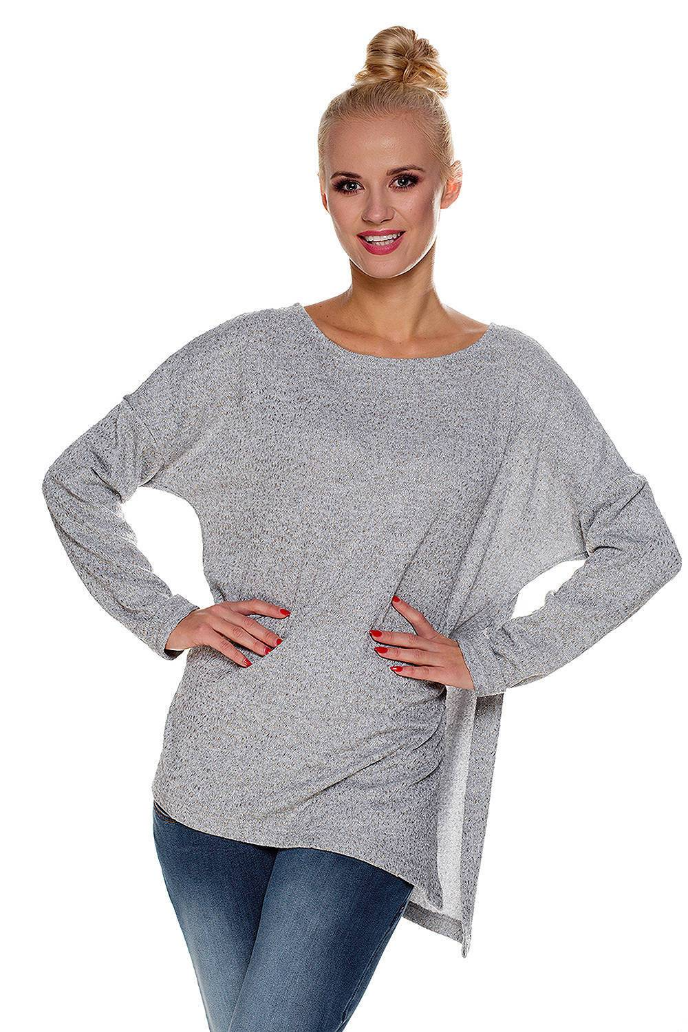 Maternity sweater Marie grey