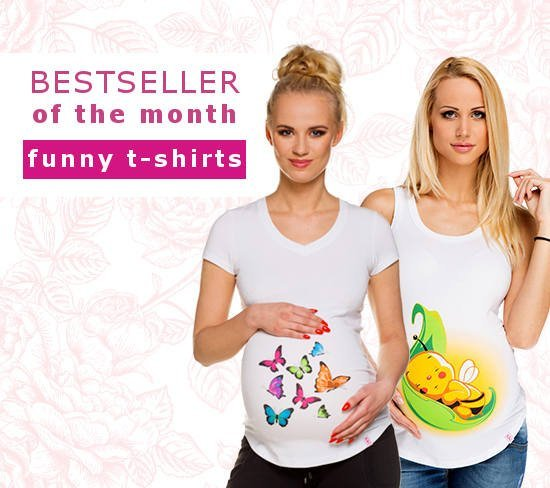 maternity t-shirts, funny maternity t-shirts, t-shirts with prints